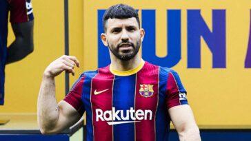 Buteur en amical, Kun Agüero a disputé ses premières minutes avec le FC Barcelone (iconsport)