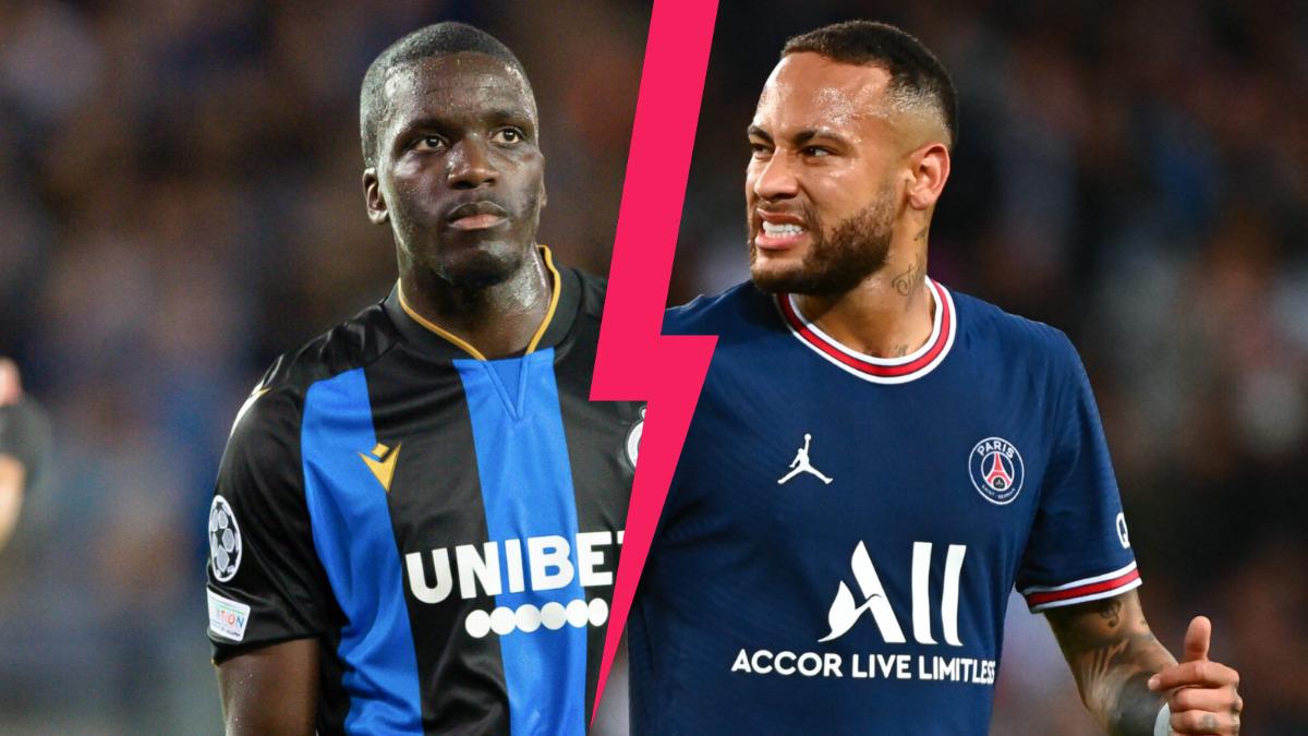 Un mois après, Nsoki s'est expliqué sur la brouille avec Neymar lors de Bruges - PSG (1-1) (iconsport)