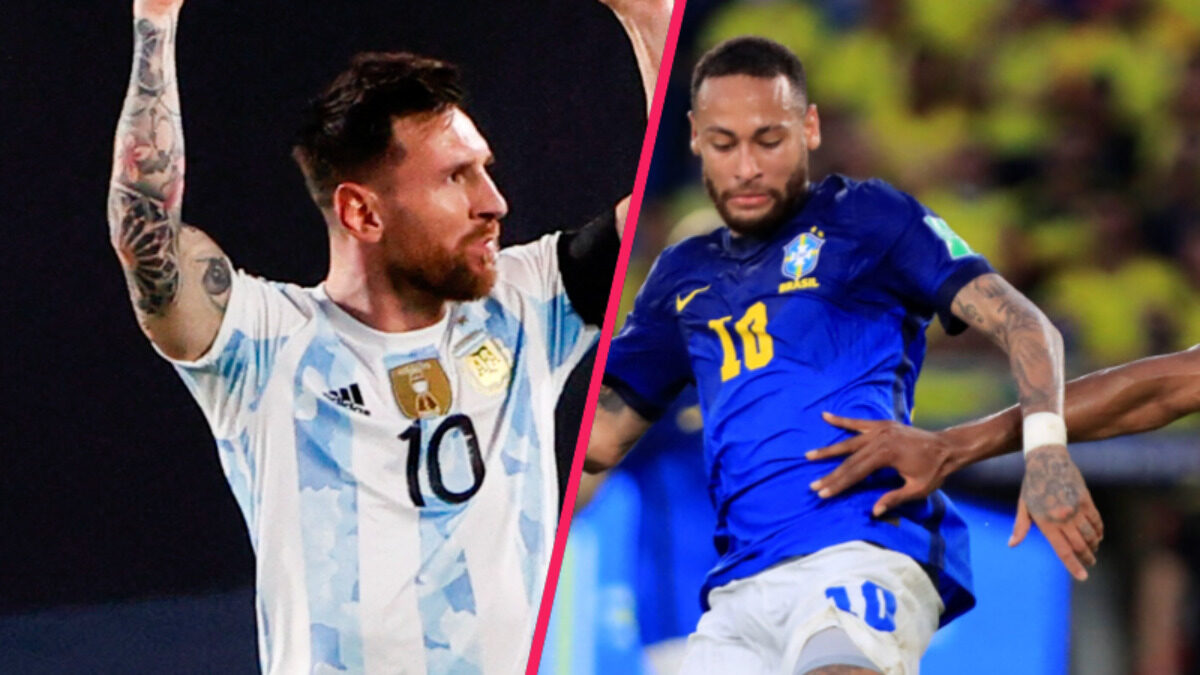 Si Lionel Messi a porté l'Argentine contre l'Uruguay, Neymar a déçu avec le Brésil en Colombie dans les qualifications à la Coupe du monde en Amérique du Sud (iconsport)