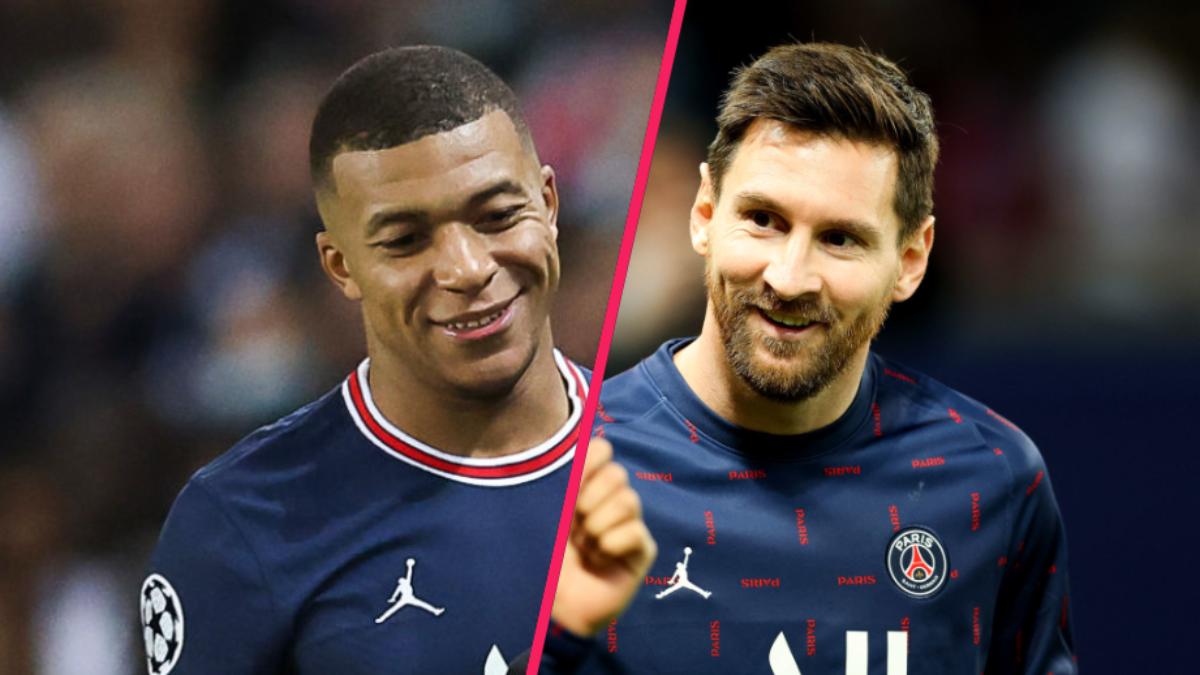 Kylian Mbappé s'est confié sur son rôle de coéquipier de Lionel Messi au PSG. Icon Sport