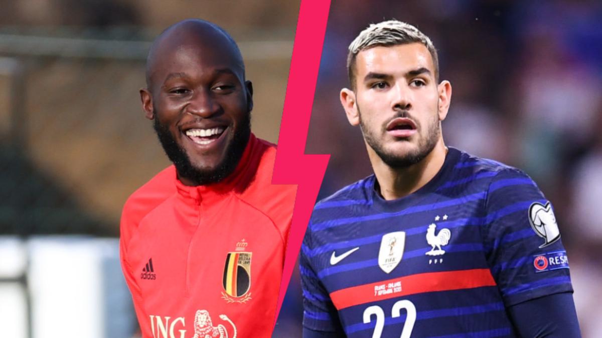 Romelu Lukaku est évidemment titulaire à la pointe de l'attaque de la Belgique, alors que Théo Hernandez va vivre sa deuxième sélection avec l'équipe de France. Icon Sport