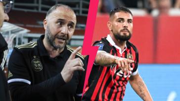 Djamel Belmadi, le sélectionneur de l'Algérie, a éructé contre Andy Delort. Icon Sport