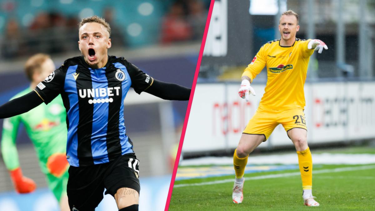 Noa Lang (Club Bruges) et Mark Flekken (Fribourg) sont les deux petits nouveaux sélectionnés par le sélectionneur des Oranje. @icon sport