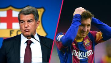 Laporta a espéré jusqu'au dernier moment que Messi accepte de rester à Barcelone sans toucher de salaire (iconsport)