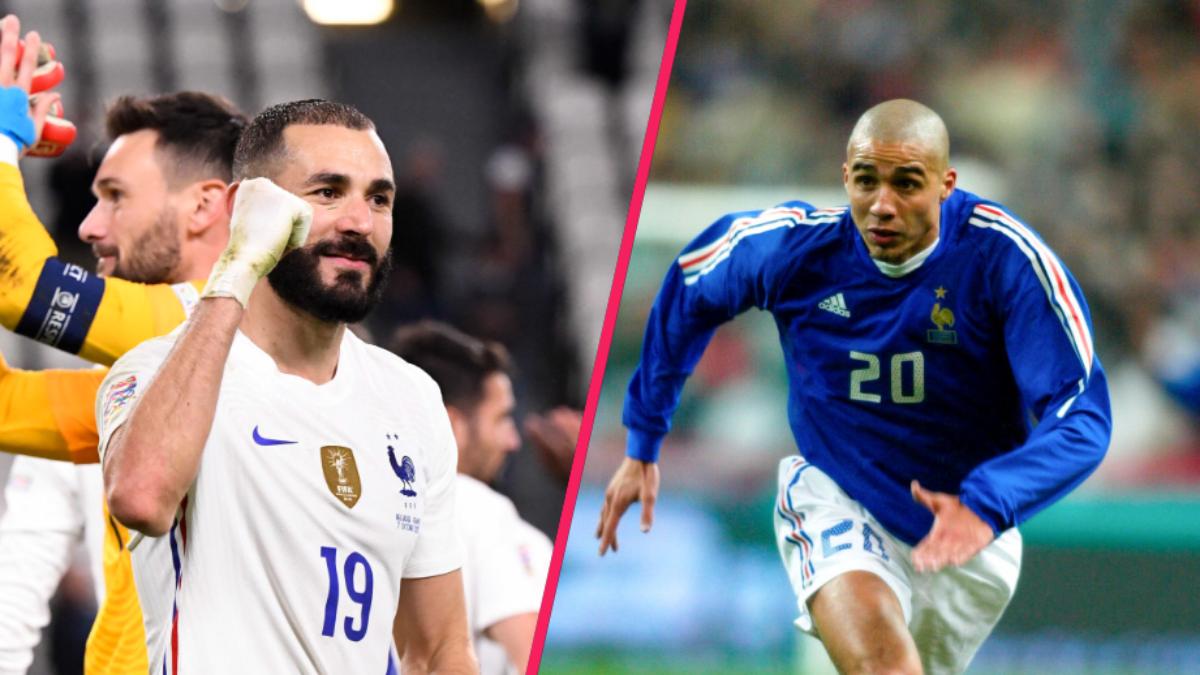 Karim Benzema vise désormais la cinquième place de David Trezeguet au classement des buteurs en équipe de France. iconsport