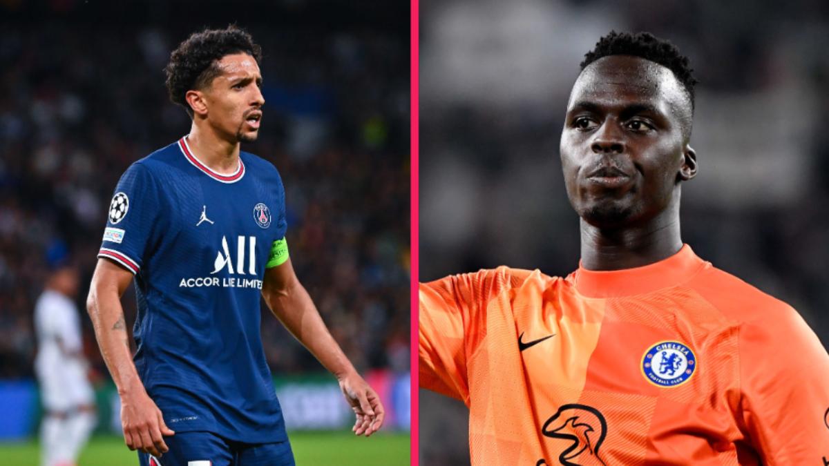 Marquinhos, le capitaine du PSG, et Edouard Mendy, le gardien du champion d'Europe Chelsea, ne font pas partie de la liste. Icon Sport