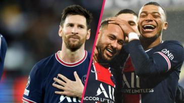 Lionel Messi voterait pour Neymar et Mbappé au Ballon d'Or. Icon Sport