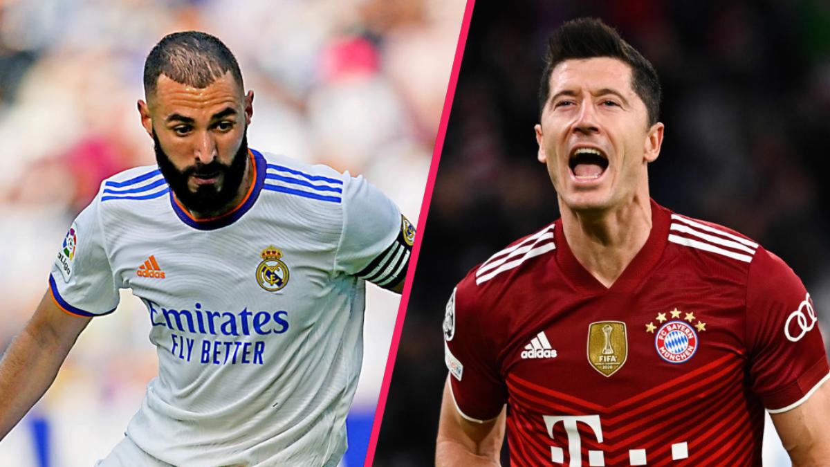 Lionel Messi a cité Karim Benzema et Robert Lewandowski comme candidats légitimes au Ballon d'Or. Icon Sport