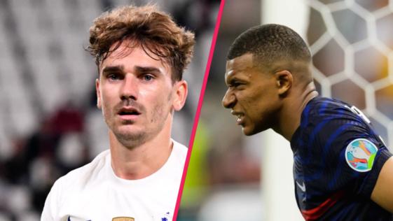 Antoine Griezmann a soutenu Kylian Mbappé après les critiques de l'Euro. Icon Sport
