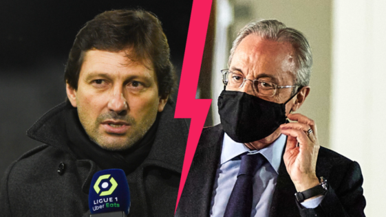 Leonardo, le directeur sportif du PSG, s'en est de nouveau pris au Real Madrid de Florentino Pérez pour son attitude dans le dossier Mbappé. Icon Sport