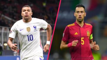 Mbappé et Busquets ont été récompensés après la finale de la Ligue des nations (iconsport)