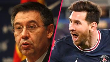 Josep Maria Bartomeu a donné son sentiment sur le départ de Leo Messi au Paris Saint-Germain. Icon Sport
