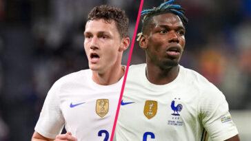 En finale de Ligue des nations, Paul Pogba s'en était pris à Benjamin Pavard (iconsport)