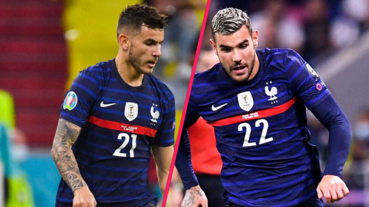 Pour la première fois, Lucas et Théo Hernández ont été retenus ensemble en équipe de France (iconsport)