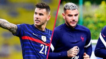 Pour la première fois depuis 45 ans, deux frères ont été appelés ensemble en équipe de France. Lucas et Théo Hernández en ont longtemps rêvé (iconsport)