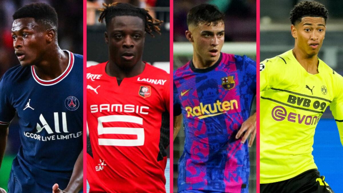 Mendes, Doku, Pedri et Bellingham font partie des 10 joueurs nommés pour le trophée Kopa (iconsport)