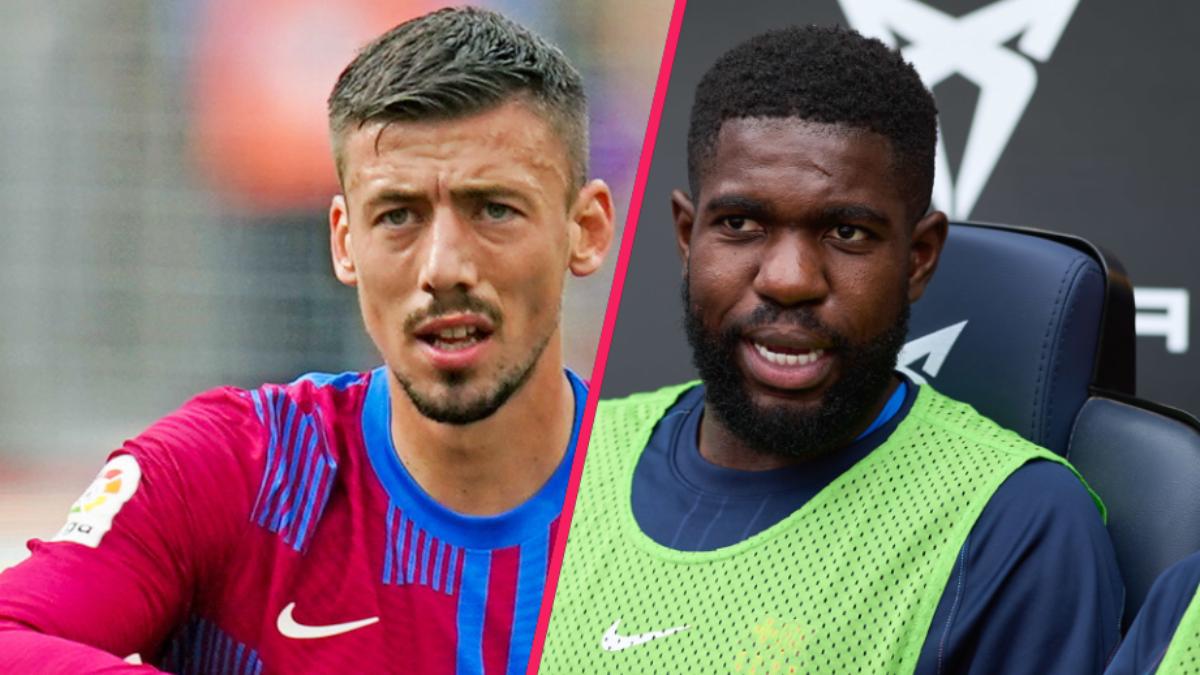 Clément Lenglet et Samuel Umtiti pourraient quitter le FC Barcelone lors du prochain mercato hivernal. Icon Sport