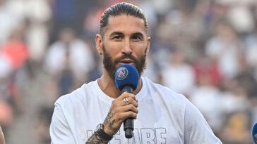 Sergio Ramos ne sera pas présent avec le PSG contre Angers ce vendredi (iconsport)